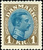 Denmark Chr. X 1921-22 AFA 131a mint