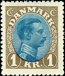 Danmark - AFA nr.131a - Chr. X 1921-22 - Postfrisk