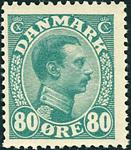 Danmark Chr. X 1915 - AFA nr.84 - Postfrisk