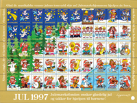 Denmark - Christmas sheet 1997