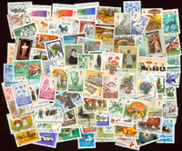 Tuberculose 82 diff. cancelled stamps