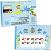 Germany -Coin card - Expansion of the European Community