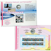 Germany - Coin card - Wattenmeer