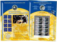Tyskland - Møntkort - Internationale Raumstation ISS - Møntkort