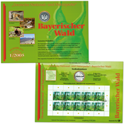 Tyskland - Møntkort - Bayerischer Wald - Møntkort