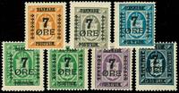 Danmark provisorier 1926, AFA nr. 160-66 - postfrisk