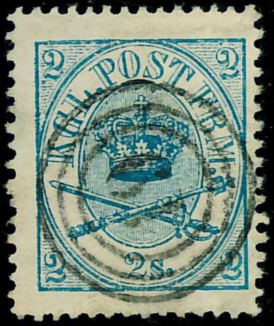 Danmark - Stemplet 1864, AFA nr. 11