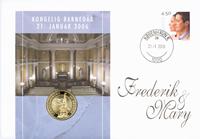 Denmark - Baptism numisletter - Prince Christian Valdemar Henri John