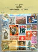 Danmark, Skandinavien, Europa og Hele Verden - Kilovare - 100 gr.