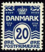 Denmark - letterpress - AFA no. 66A