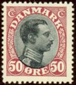 Denmark - Letter Press - AFA no. 106