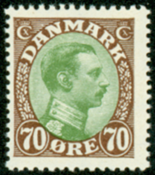 Denmark letter press AFA no. 108