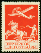 Denmark - letter press - AFA no. 146