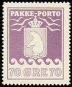 Greenland - Parcel stamp - AFA no. 13