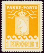 Greenland - Parcel stamp - AFA no. 14