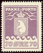 Grønland - Pakkeporto - AFA nr. 17