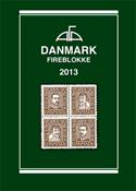 AFA Danmark 4-blokliste frimærkekatalog 2013