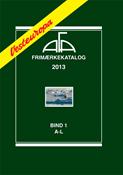 AFA Vesteuropa frimærkekatalog bind I, 2013