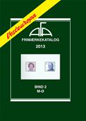 AFA Vesteuropa frimærkekatalog bind II, 2013 (M-Ø)
