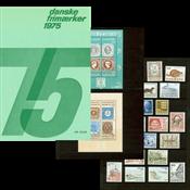 Denmark - Year pack 1975