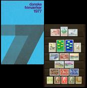 Denmark - Year pack 1977