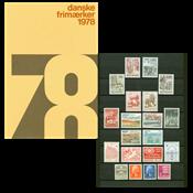 Denmark - Year pack 1978
