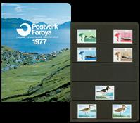 Faroe Islands - Year pack 1977