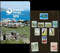 Faroe Islands - Year pack 1978