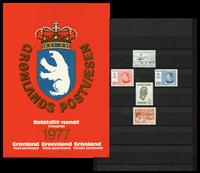 Grønland - Årsmappe 1977