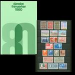 Danmark - Årsmappe 1980