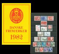 Denmark - Year pack 1982