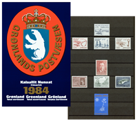 Greenland - Year pack 1984
