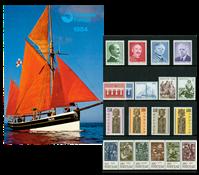 Faroe Islands - Year pack 1984