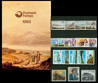 Faroe Islands - Year pack 1985