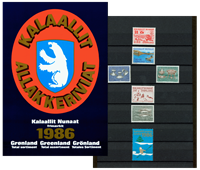 Greenland - Year pack 1986