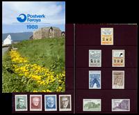 Faroe Islands - Year pack 1988