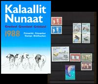 Grønland - Årsmappe 1988