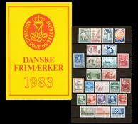 Denmark - Year pack 1983
