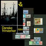Danmark - Årsmappe 1984