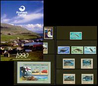 Faroe Islands - Year pack 1990