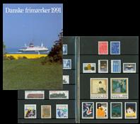 Danmark - Årsmappe 1991