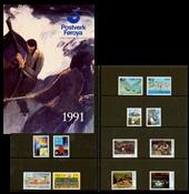 Faroe Islands - Year pack 1991