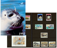 Faroe Islands - Year pack 1992