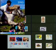 Faroe Islands - Year pack 1993
