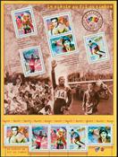 Frankrig - Århundredets sport - Postfrisk ark