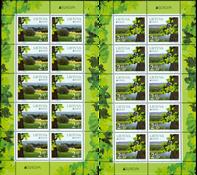 Lithuania - Europa 2011 - Sheetlet of 10 - 2 values