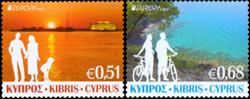 Cypern - Europa - Postfrisk sæt 2v