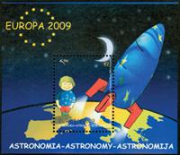 Kosovo - Europa 2009 - Postfrisk miniark