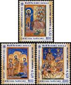 Vatikanet - Nationale dåb - Postfrisk sæt 3v