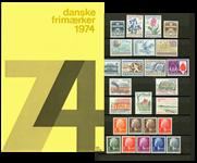 Danmark - Årsmappe 1974